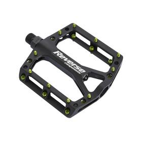 Reverse Black ONE Pedal schwarz/hellgrün